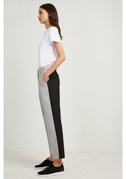 Colour Block Tailored Trousers