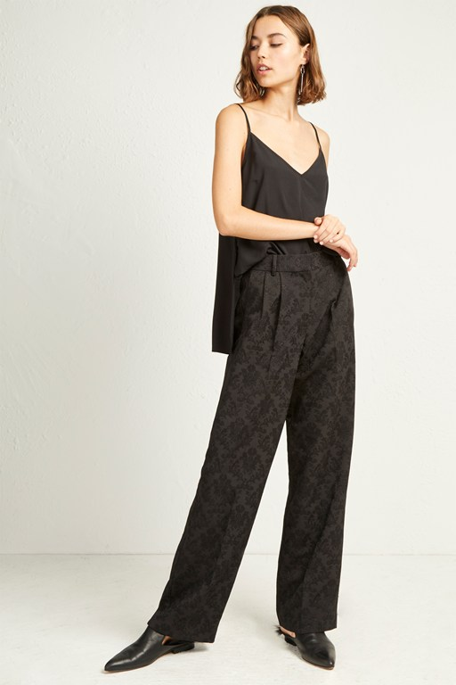 jane suiting relaxed trousers