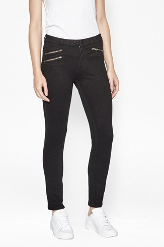 Lilly Denim Zipped Skinny Jeans
