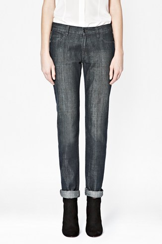 Flora Denim Straight Leg Jeans