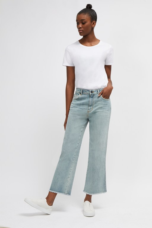 Complete the Look Milo Denim Straight Boot Cut Jeans