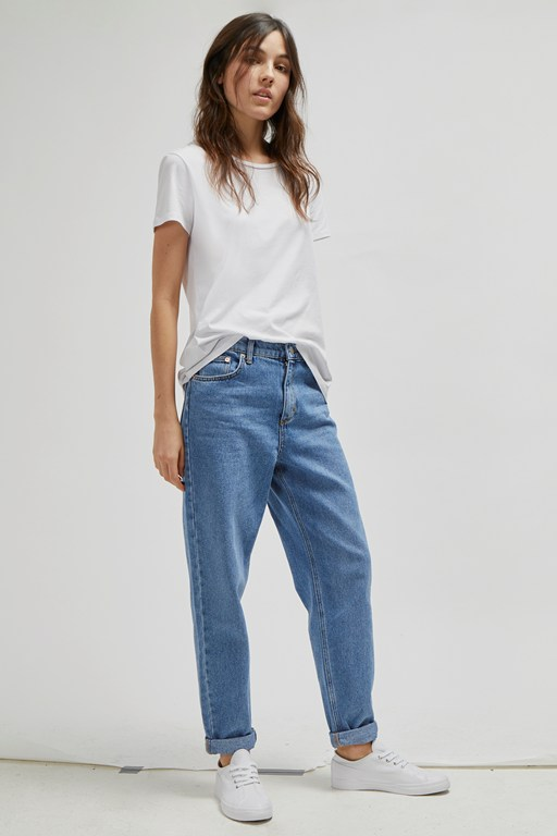 Complete the Look Pepper Denim 90s Gaucho Jeans
