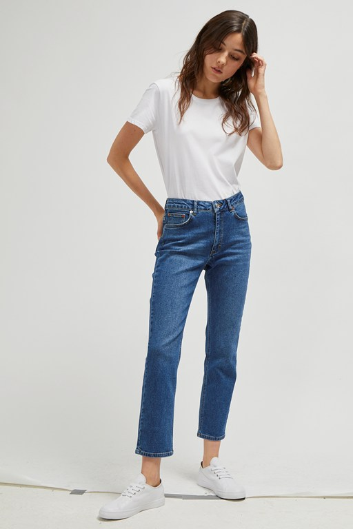 Complete the Look Jilly Denim High Rise Straight Jeans