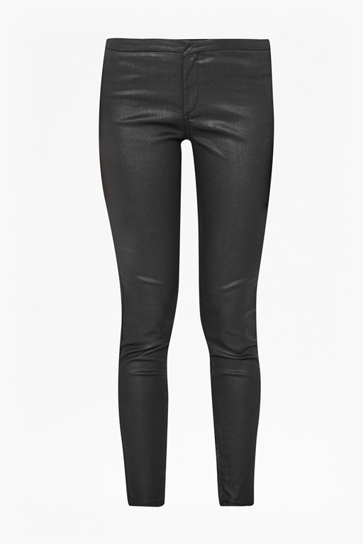 Complete the Look Metallic Coated Second Skin Leggings