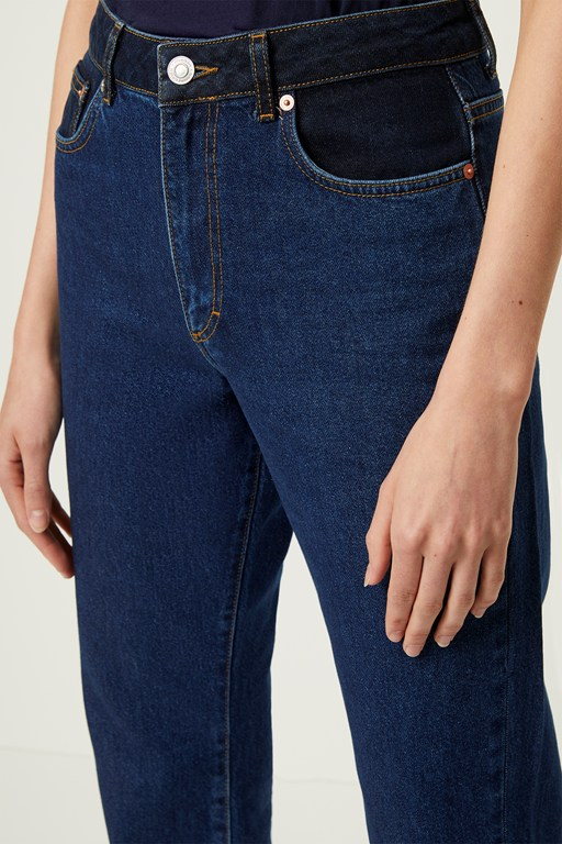 Complete the Look Leona Denim High Waist Straight Leg Jeans