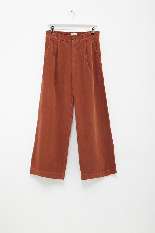 Complete the Look Manzu Cord Wide Leg Trousers