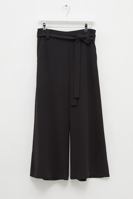 Whisper Ruth Cropped Wide Leg Trousers