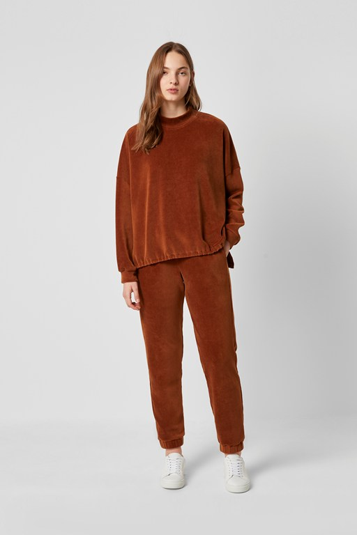 Complete the Look Renata Corduroy Jersey Joggers
