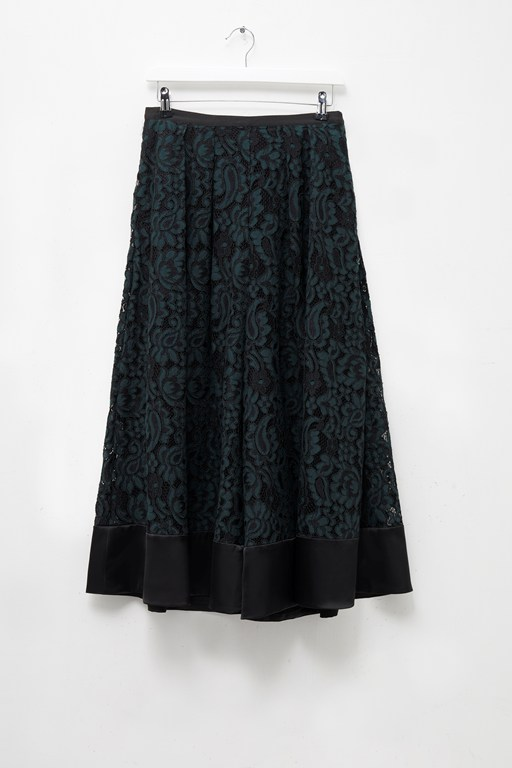 Complete the Look Daria Lace Flared Culottes