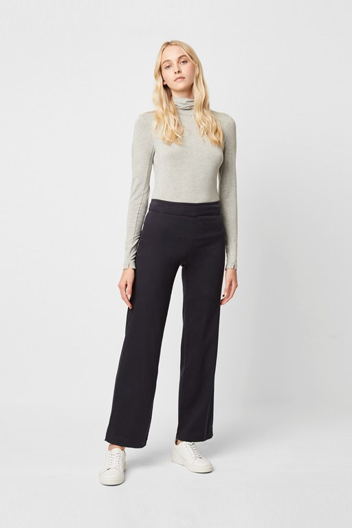 sadie premium wide leg trousers