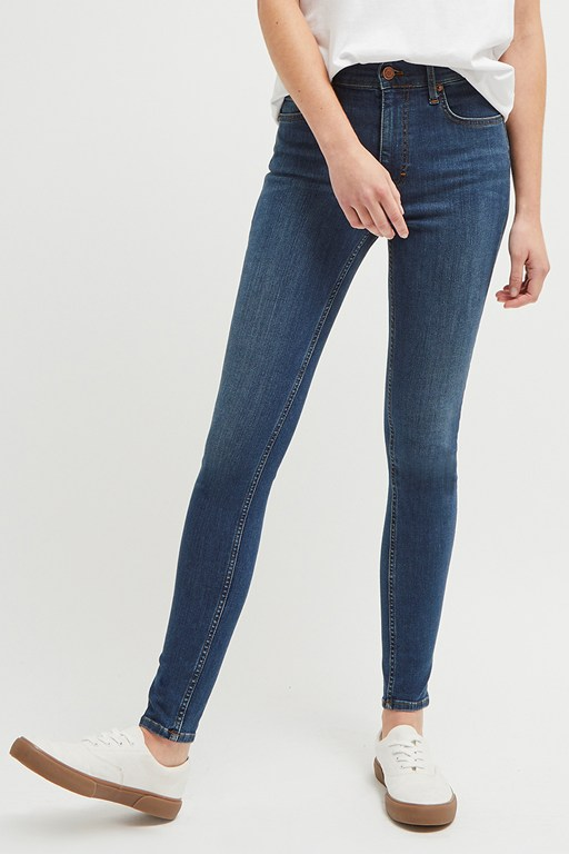rebound recycled skinny jeans 32 inch