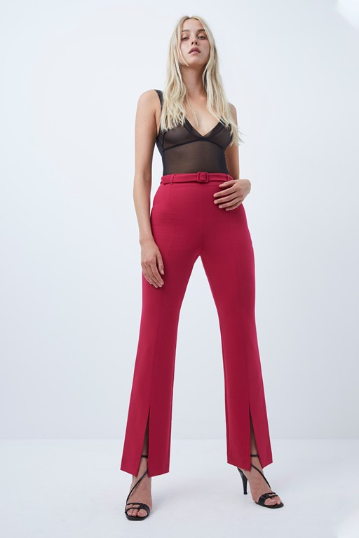 alia whisper high waist trousers