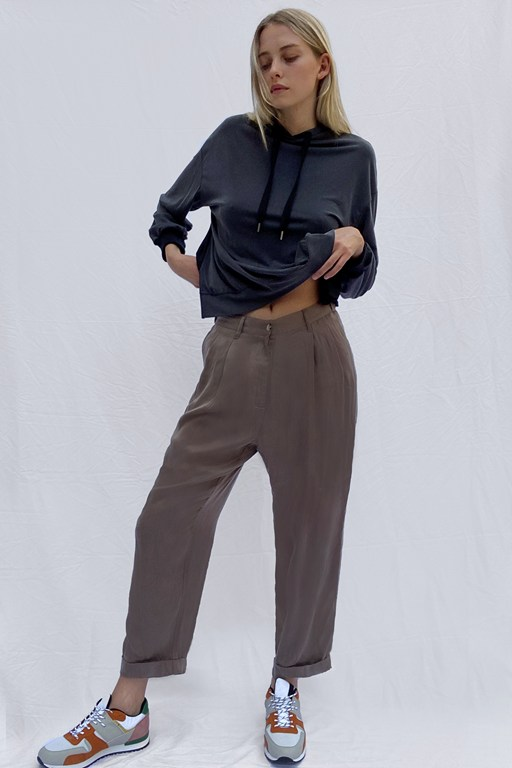 Complete the Look Rosanna Cupro Pleat Front Trousers