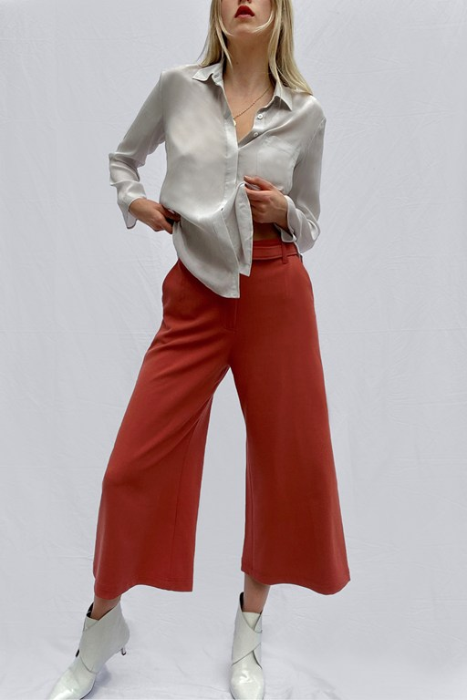 audeta whisper cropped trousers