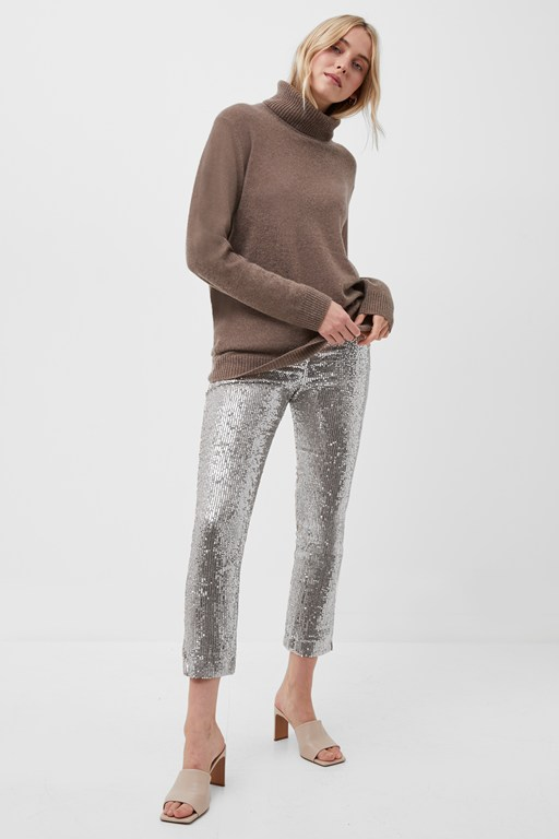Complete the Look Alindava Sequin Trousers