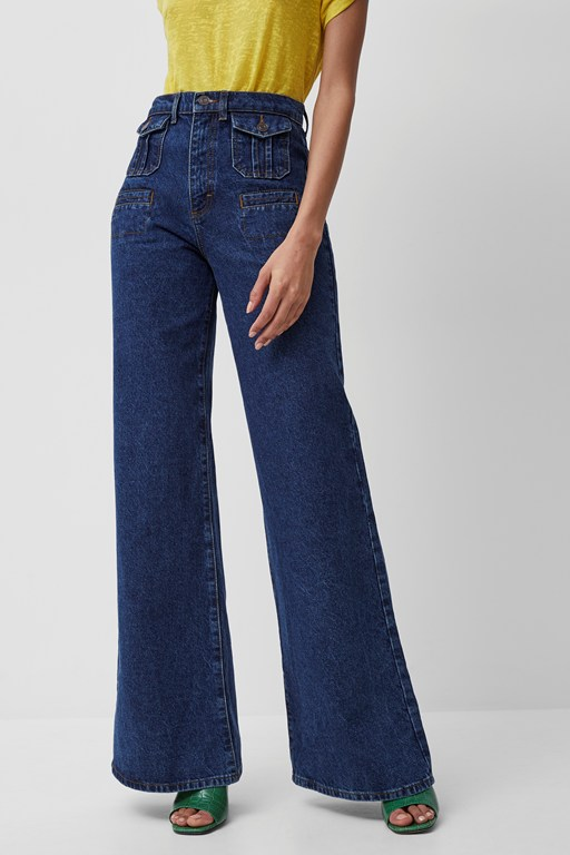 Complete the Look Riah Recycled Flared Jeans
