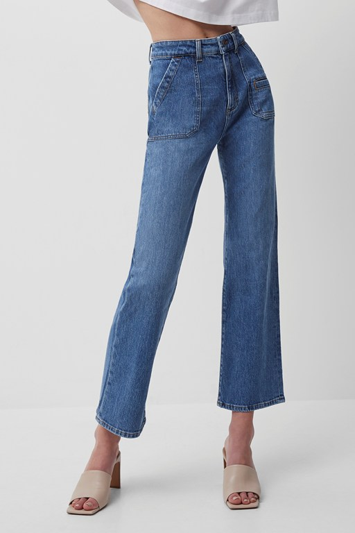 robyne recycled kick flare jeans