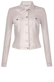 Metallic Lilly Denim Jacket