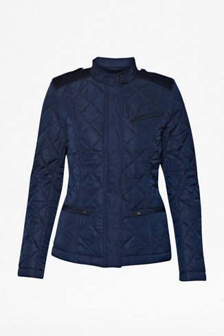 Quilted Dash Collar Jacket