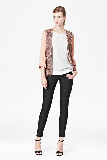 Forest Fern Embellished Jacket