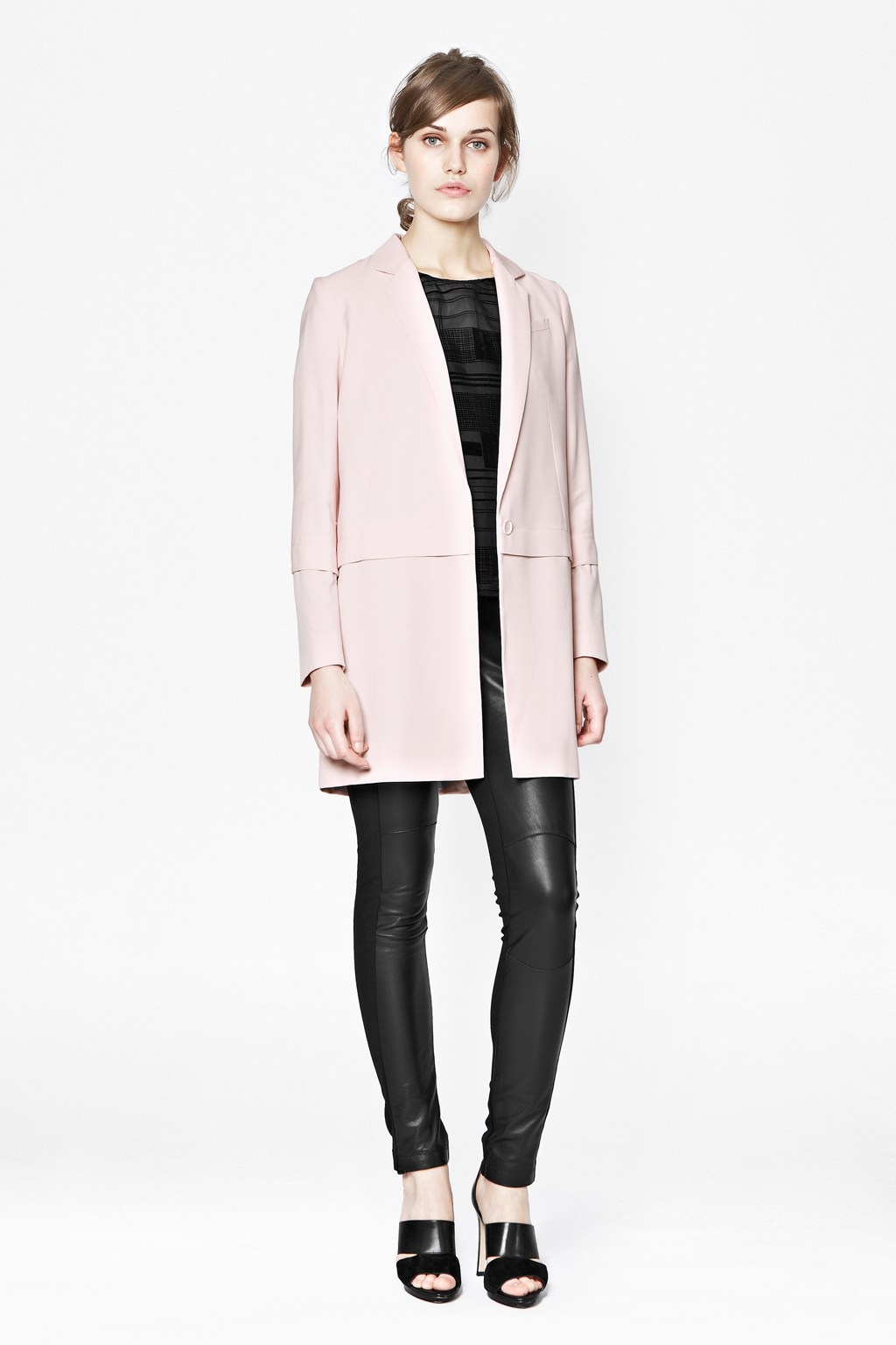 Roselin Longline Blazer Coat - Jackets & Coats - French Connection