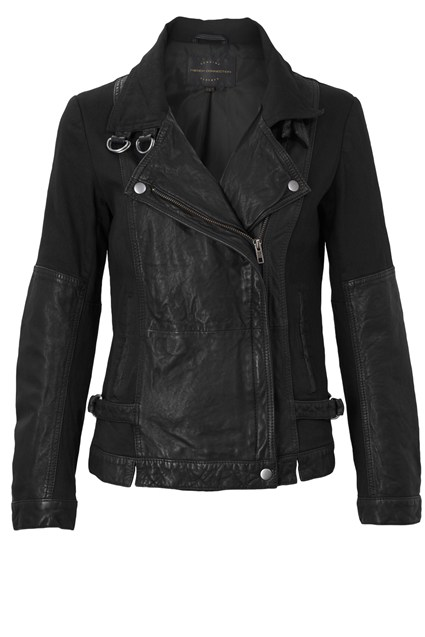 Dean Leather Biker Jacket