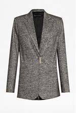 Looks Great With Pepper Fitted Blazer