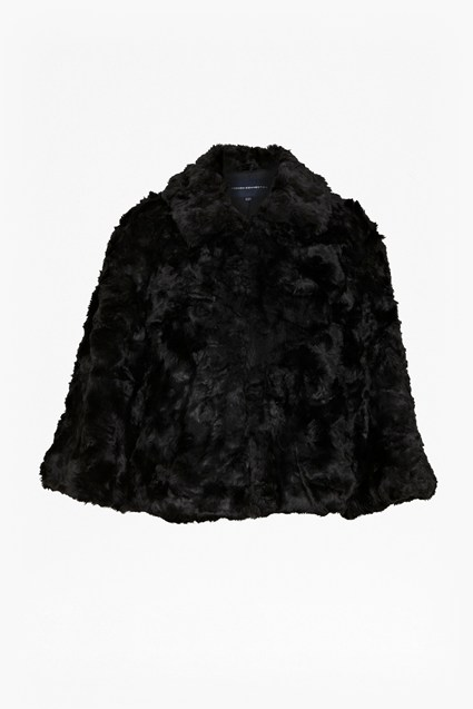 Polar Teddy Faux Fur Jacket