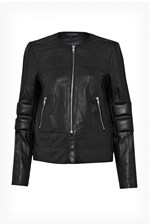 Looks Great With Jetson Leather Biker Jacket