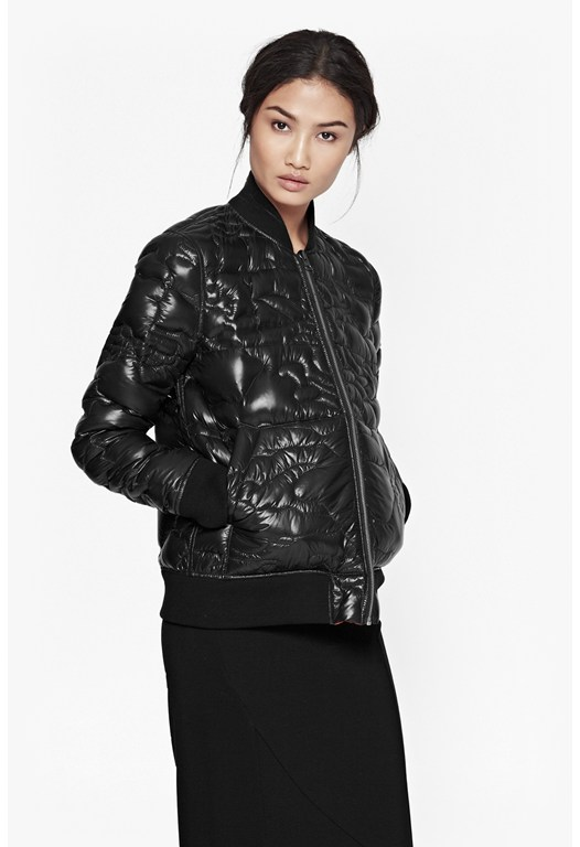 Riot Quilted Puffa Jacket