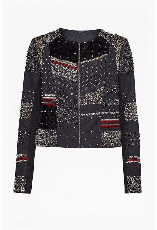 Dark Angel Embellished Jacket