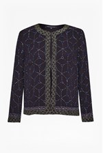 Looks Great With Madeline Mosaic Beaded Jacket