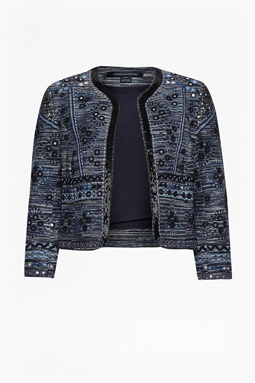 Complete the Look Palm Valley Embellished Boxy Jacket