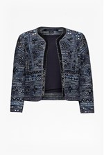 Looks Great With Palm Valley Embellished Boxy Jacket