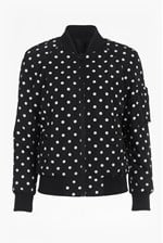 Looks Great With Dotty Spot Reversible Bomber Jacket