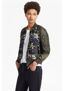 Rivera Floral Embroidered Bomber Jacket