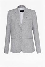 Looks Great With Summer Linen Blazer