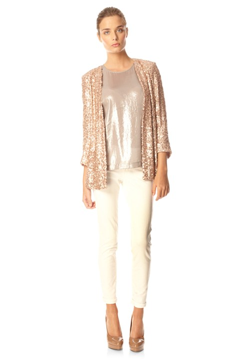 Mini Sequins Jacket