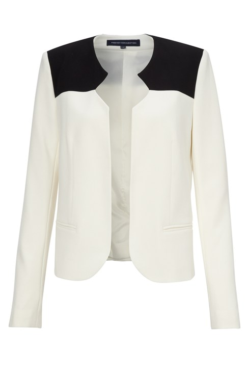 Feather Ruth Blazer Jacket, Monochrome
