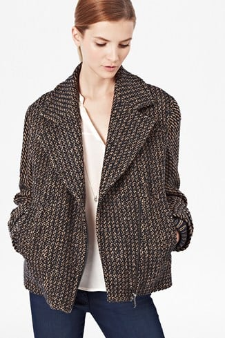 Triumph Tweed Biker Jacket