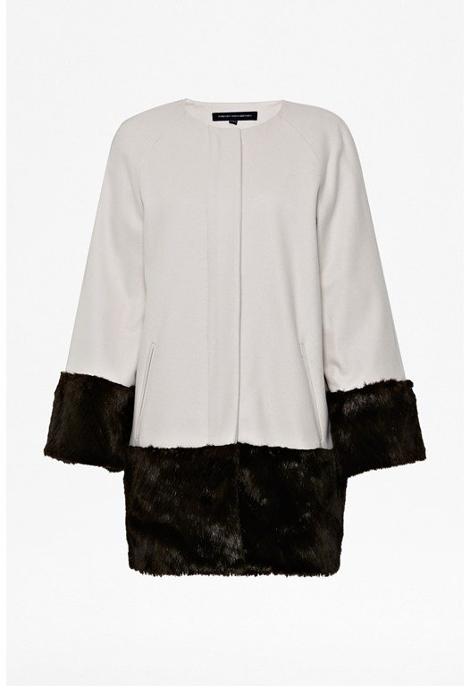 Corvette Faux Fur Coat