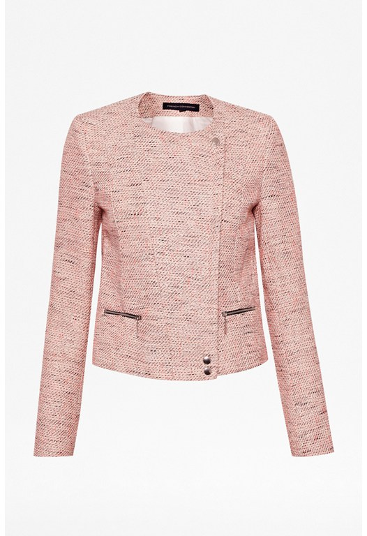 Bel Air Tweed Biker Jacket