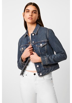 Macee Micro Western Denim Jacket