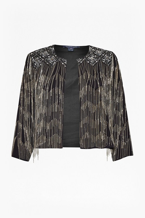 Complete the Look Diamond Fringe Jacket