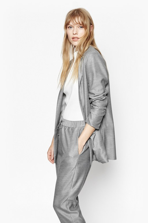 Complete the Look Ivy Woven Blazer