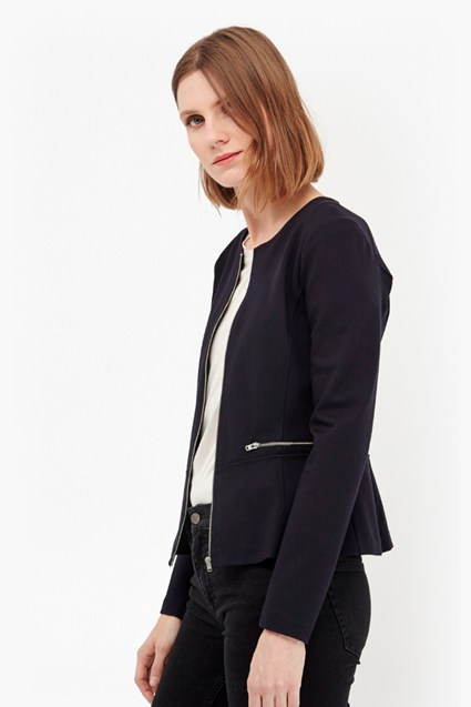 Nadine Stretch Peplum Jacket