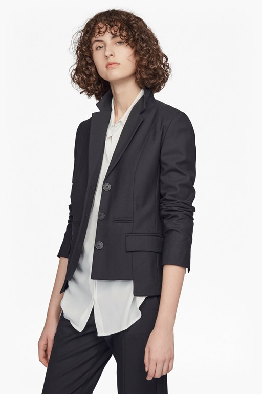 winter tallulah long sleeved classic jacket