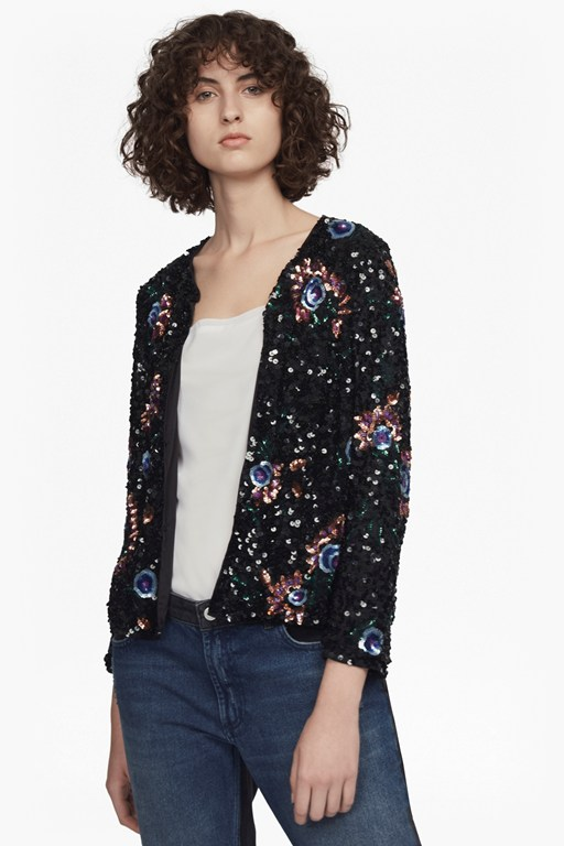 valerie sparkle sequin jacket