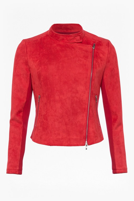 Complete the Look Ellef Suedette Biker Jacket