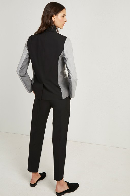 Complete the Look Colour Block Suiting Fitted Blazer